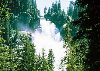 the Krimmler waterfalls are the highest in Europe, Austria, Ziller Valley Arena