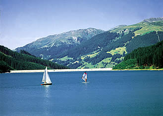 summer holidays in Austria, Ziller Valley Arena - Sailing